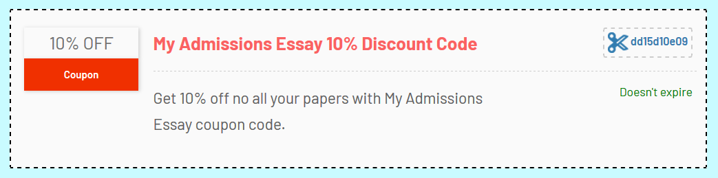 myadmissionsessay coupon code