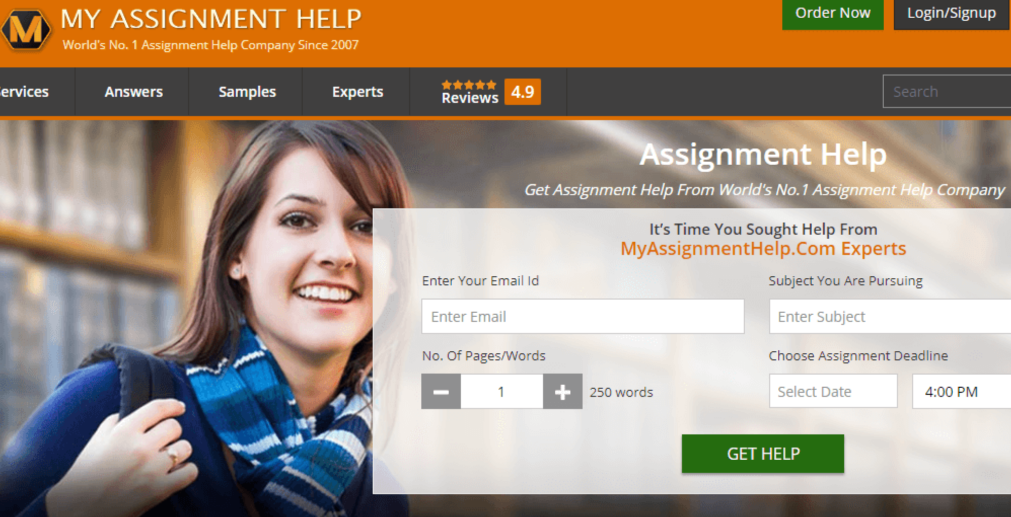 myassignmenthelp review